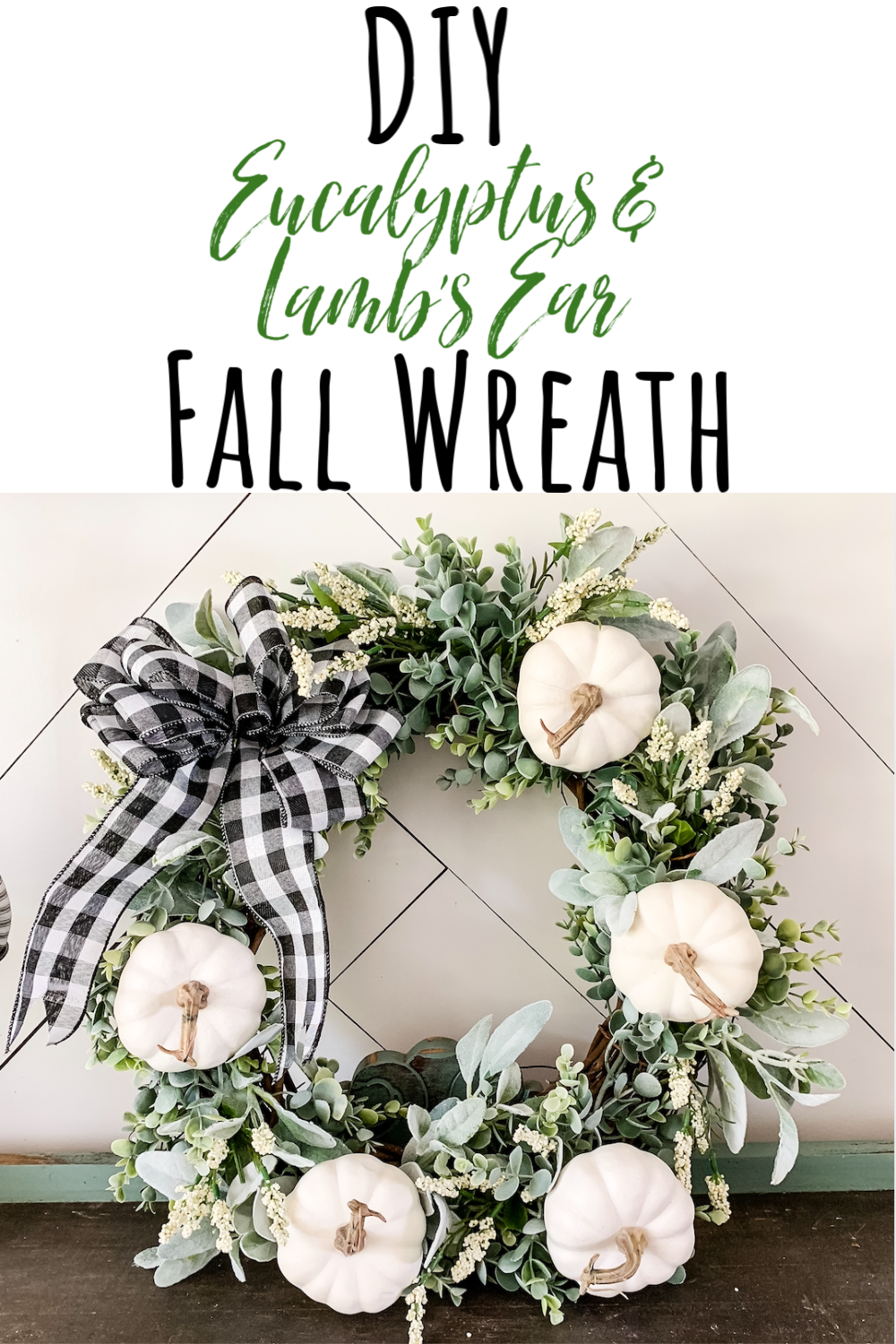 Remington Ranch Farmhouse Easy Diy Fall Wreath Diy